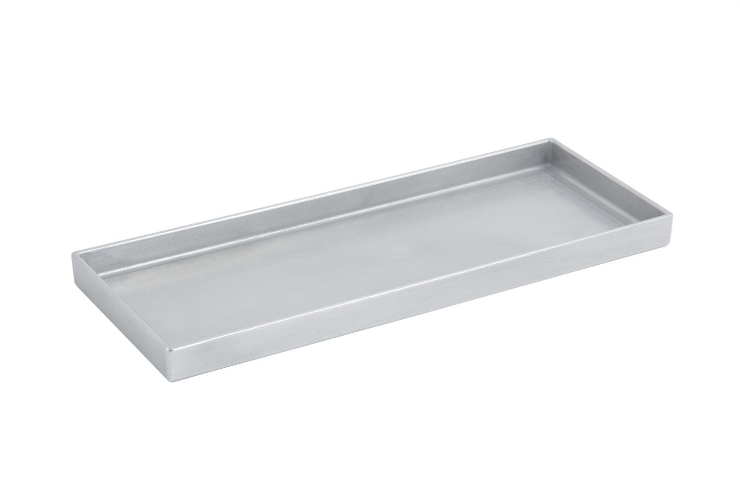 "Bon Chef 9530P Rectangular Tray, Pewter Glo 15"" x 6"" x 1"""