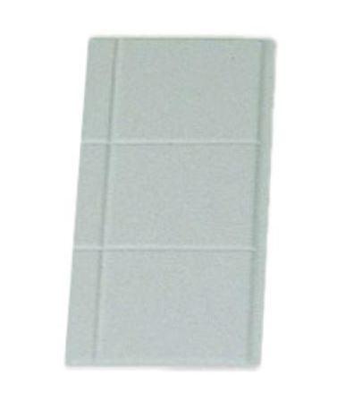 "Bon Chef 9600-1/4S 1/4 Size Tile Tray, Sandstone 13 1/8"" x 5 3/8"""