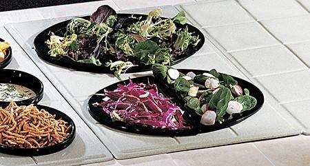 Bon Chef 960025103 Custom Cut Tile for (2) 5103, Sandstone