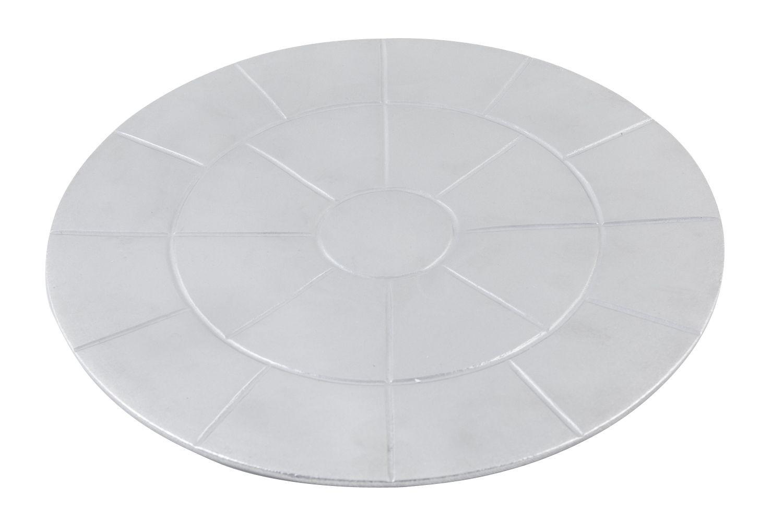 "Bon Chef 960025103 Custom Cut Tile for 2 ##5103, Pewter Glo 13 1/8"" x 21 3/8"""
