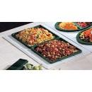 Bon Chef 960029501P Custom Cut Tile for (2) 9501, Pewter Glo