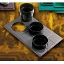 Bon Chef 960039013S Custom Cut Tile for (3) 9013, Sandstone