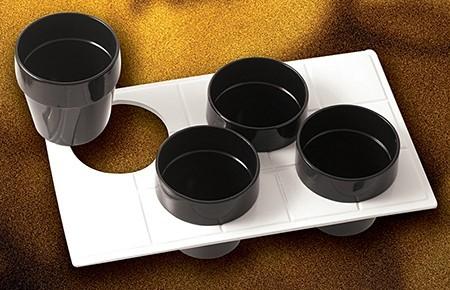 Bon Chef 9600H49013S Custom Cut Tile for (4) 9013, Sandstone