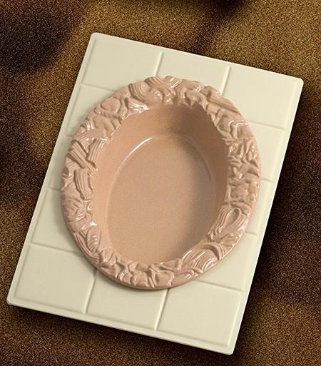 Bon Chef 9600H5500S Custom Cut Tile for 5500, Sandstone