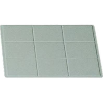"Bon Chef 9600P Full-Size Tile Tray, Pewter Glo 13 1/8"" x 21 3/8"""