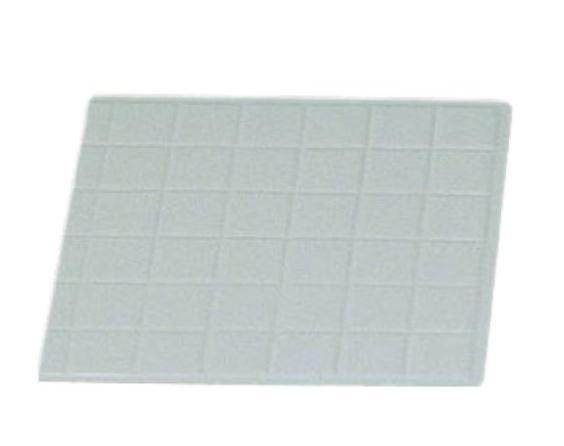 "Bon Chef 9601-1/2P Half-Size Tile Tray, Pewter Glo 13 1/2"" x 14 1/4"""
