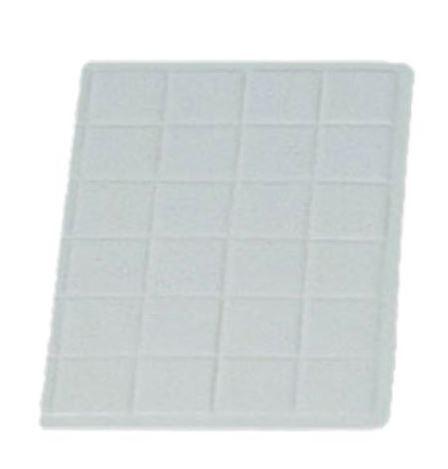 "Bon Chef 9601-1/3S 1/3 Size Tile Tray, Sandstone 13 1/2"" x 9 7/16"""