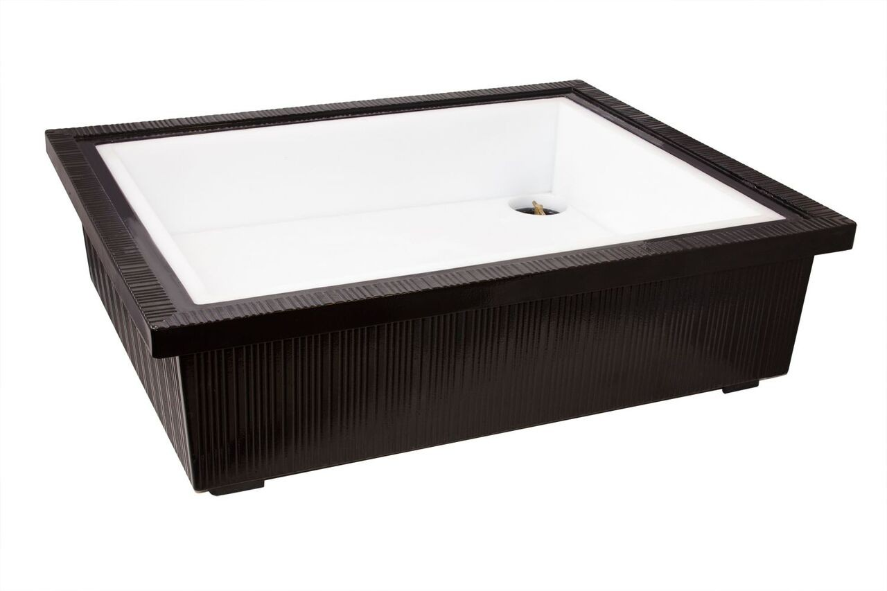 "Bon Chef 9696S Double Insulated Ice Station, Sandstone 29 3/4"" x 24 1/2"" x 8 1/2"""