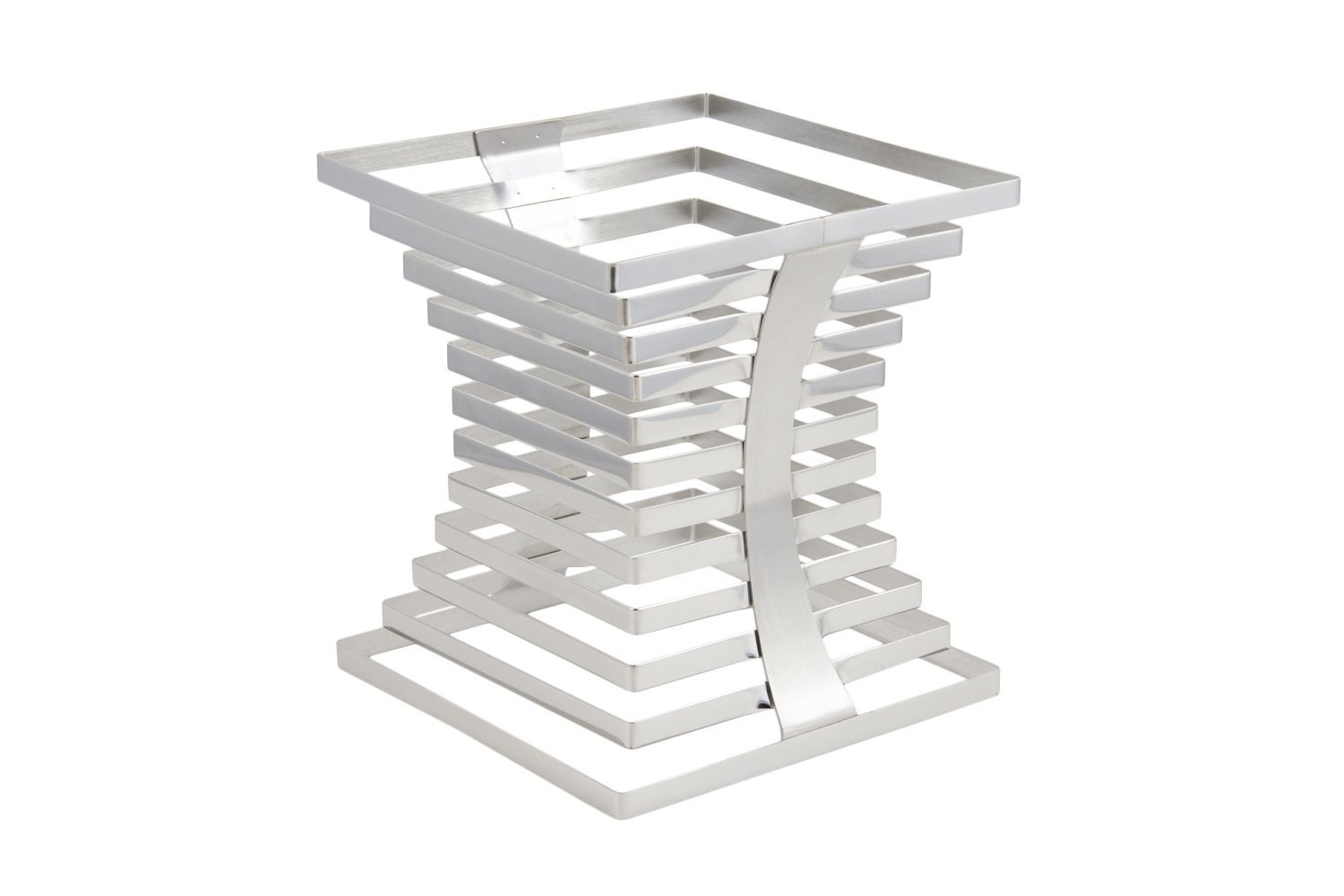 "Bon Chef 9751 Stainless Steel Riser, 10"" x 10"" x 10 3/4"""
