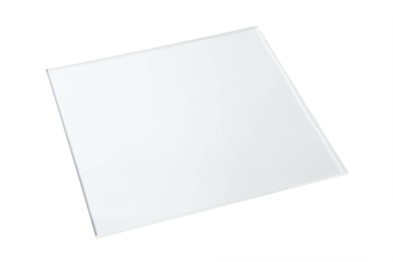 "Bon Chef 9753 Square Clear Plastic Shelf, 16"" x 16"", Set of 12"