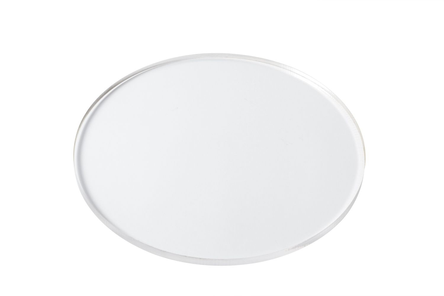 "Bon Chef 9754 Round Clear Plastic Shelf, 12"" Dia., Set of 12"