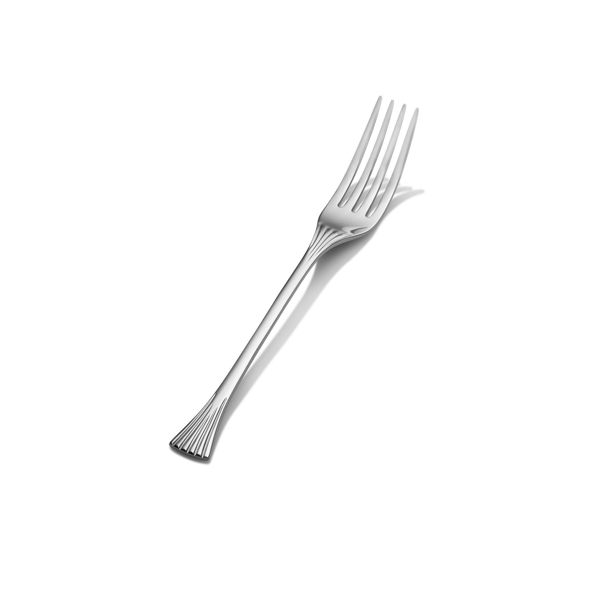 Bon Chef S2805S Mimosa 18/8 Stainless Steel Silverplated Regular Dinner Fork