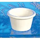 Thunder Group ML535B Bone White Melamine 2 oz. Smooth Ramekin 2-1/2""