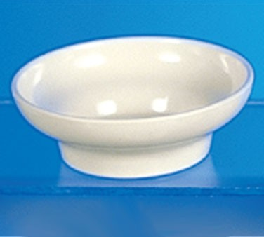 Thunder Group ML352B Bone White Melamine 8 oz. Tulip/Salsa Bowl 4-3/4""