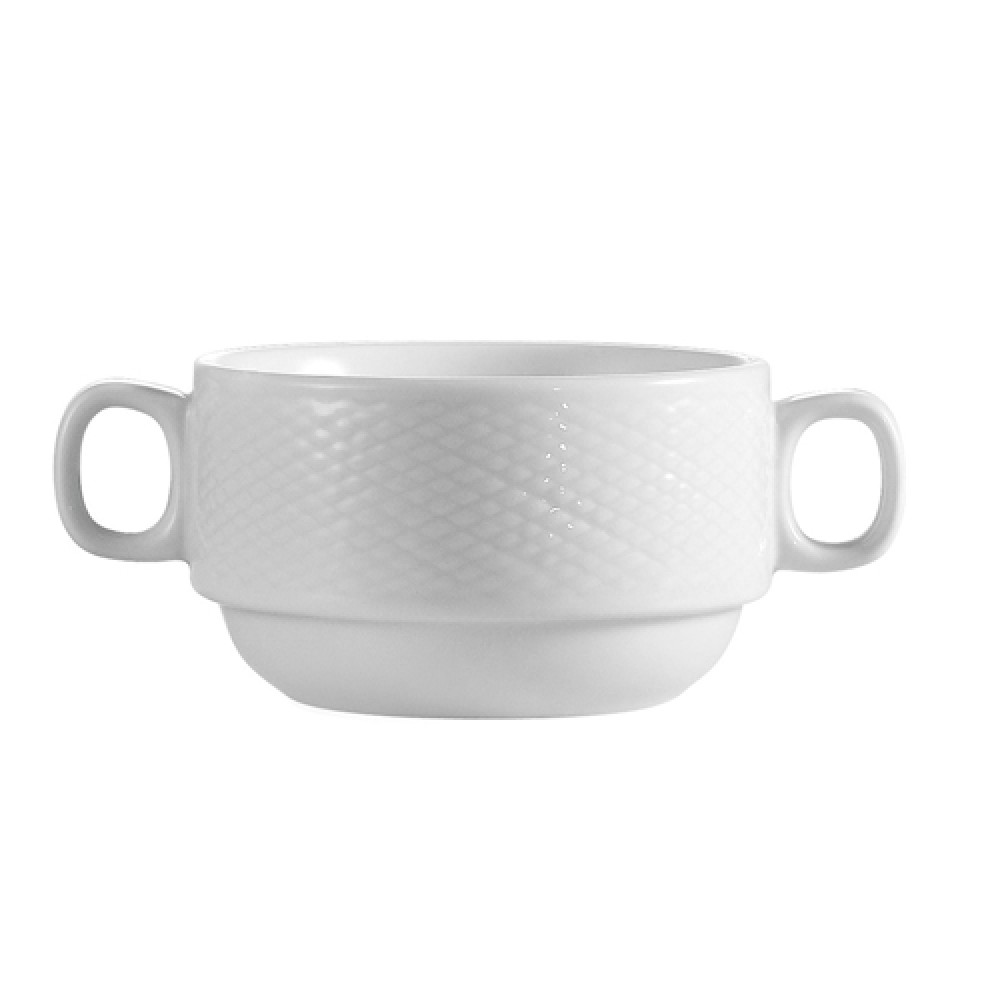 CAC China BST-46 Boston Stacking Cup with Handles 8 oz.