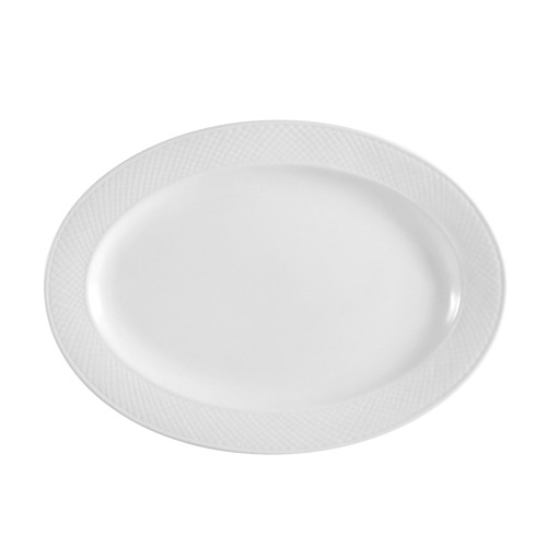 "CAC China BST-19 Boston Oval Platter, 13 1/2"" x 9"""
