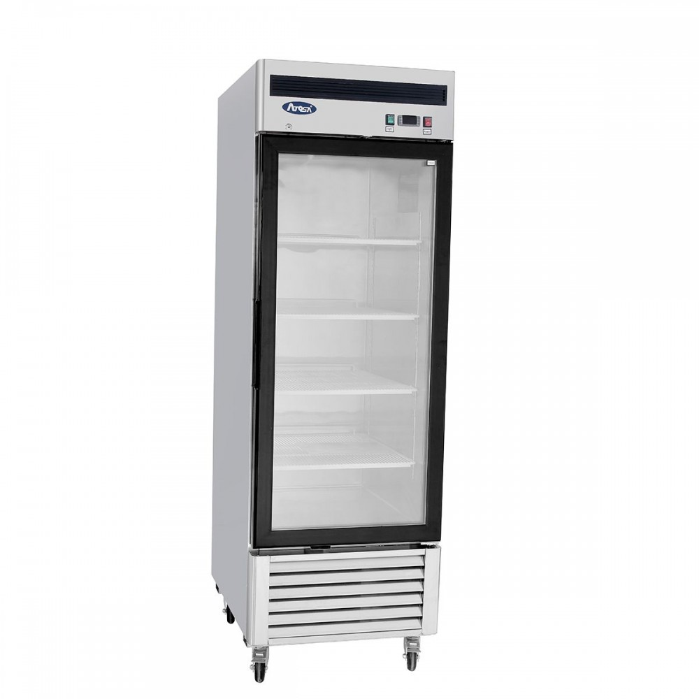 Atosa MCF8701 Bottom Mount One Glass Door Freezer