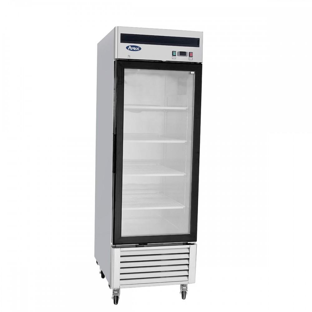 Atosa mcf8701 bottom mount one glass door freezer lionsdeal - Glass door refrigerator freezer ...