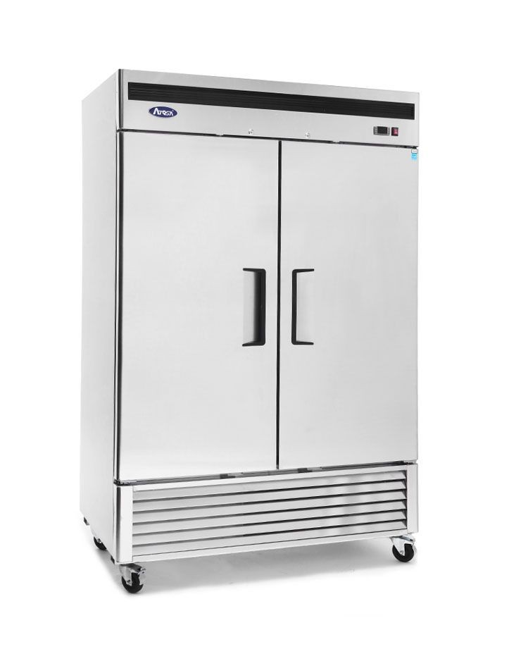 Atosa MBF8503GR Bottom Mount Two Door Reach-In Freezer