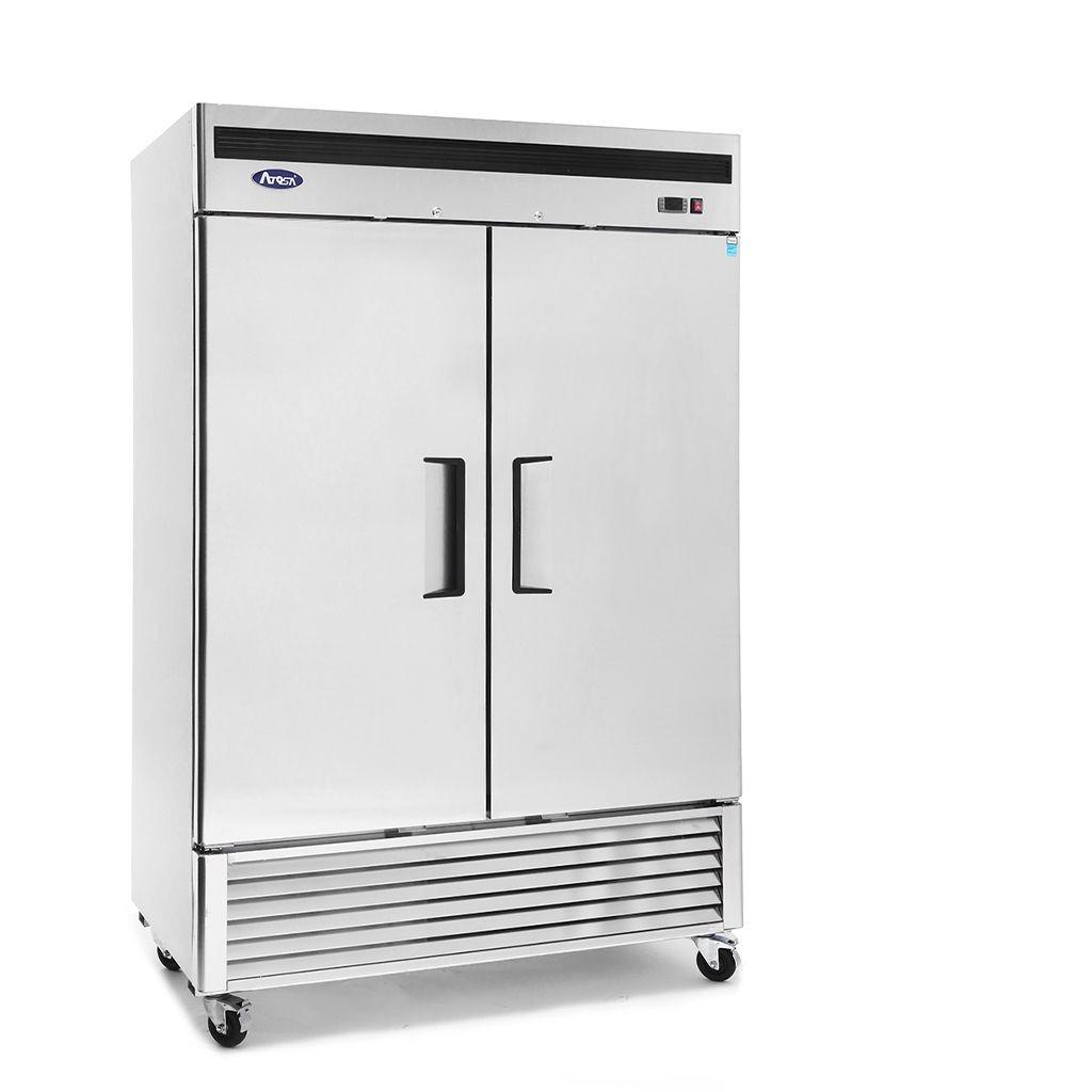 Atosa MBF8507GR Bottom Mount Two Door Reach-In Refrigerator