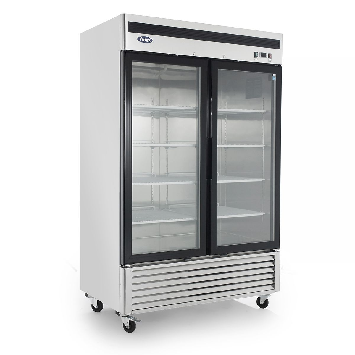 Atosa MCF8703 Bottom Mount Two Glass Door Freezer