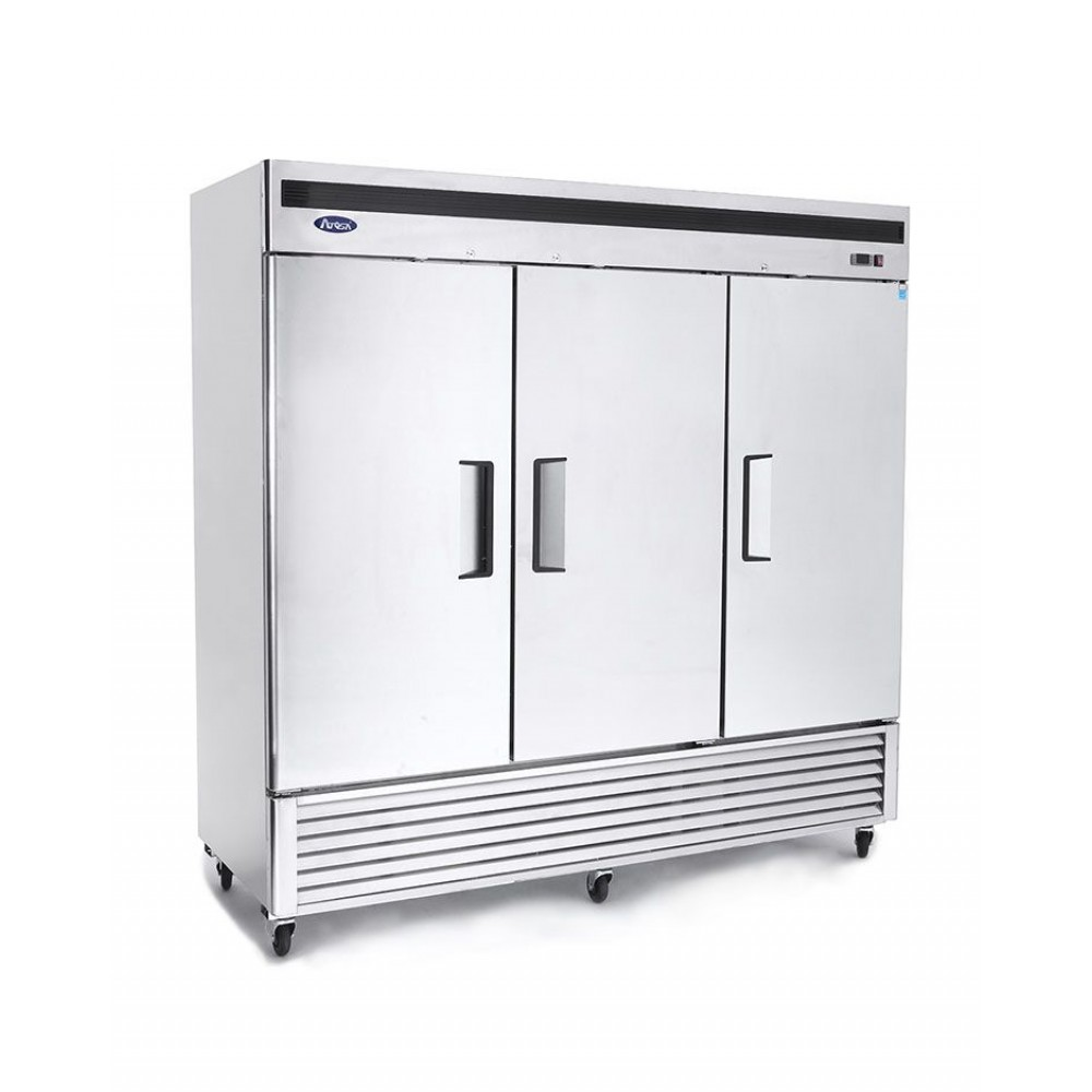 Atosa MBF8504 Bottom Mount Three Door Freezer