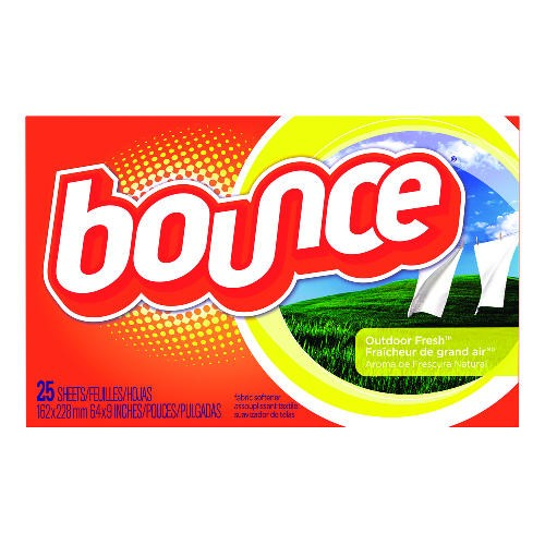 Bounce Fabric Softener Sheets, Outdoor Scent
