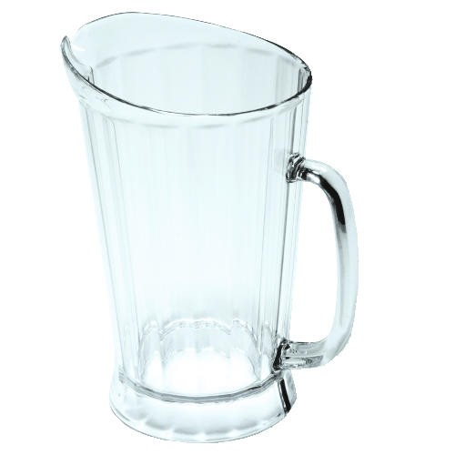 Pitcher, 60 Oz Polycarbonate, Clear