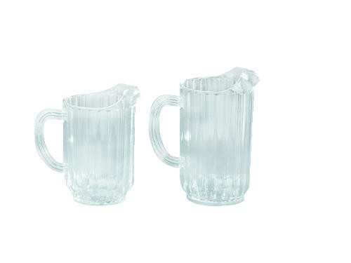 Pitcher, Polycarbonate, Clear,  60 Oz