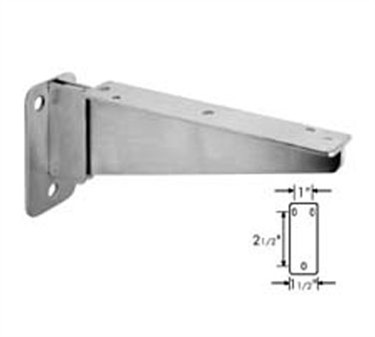 Franklin Machine Products  135-1179 Bracket, Folding (Stainless Steel, 8-5/8L )