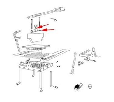 Franklin Machine Products  215-1169 Bracket, Handle