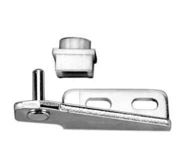 Franklin Machine Products  123-1207 Bracket, Hinge (Horiz, Lh, Btm )