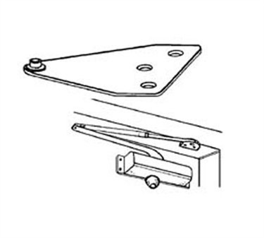 Franklin Machine Products  134-1009 Bracket, Parallel Arm (Silver )