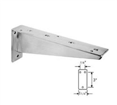 Franklin Machine Products  135-1127 Bracket, Rigid (10-1/2L, Stainless Steel )