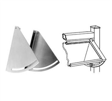 Bracket, Sneeze Guard (Adj., Set )