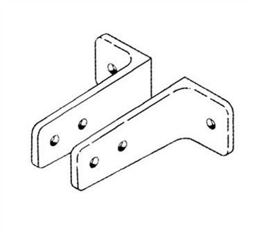Franklin Machine Products  141-1045 Bracket, Stall (Left & Right, Cp )