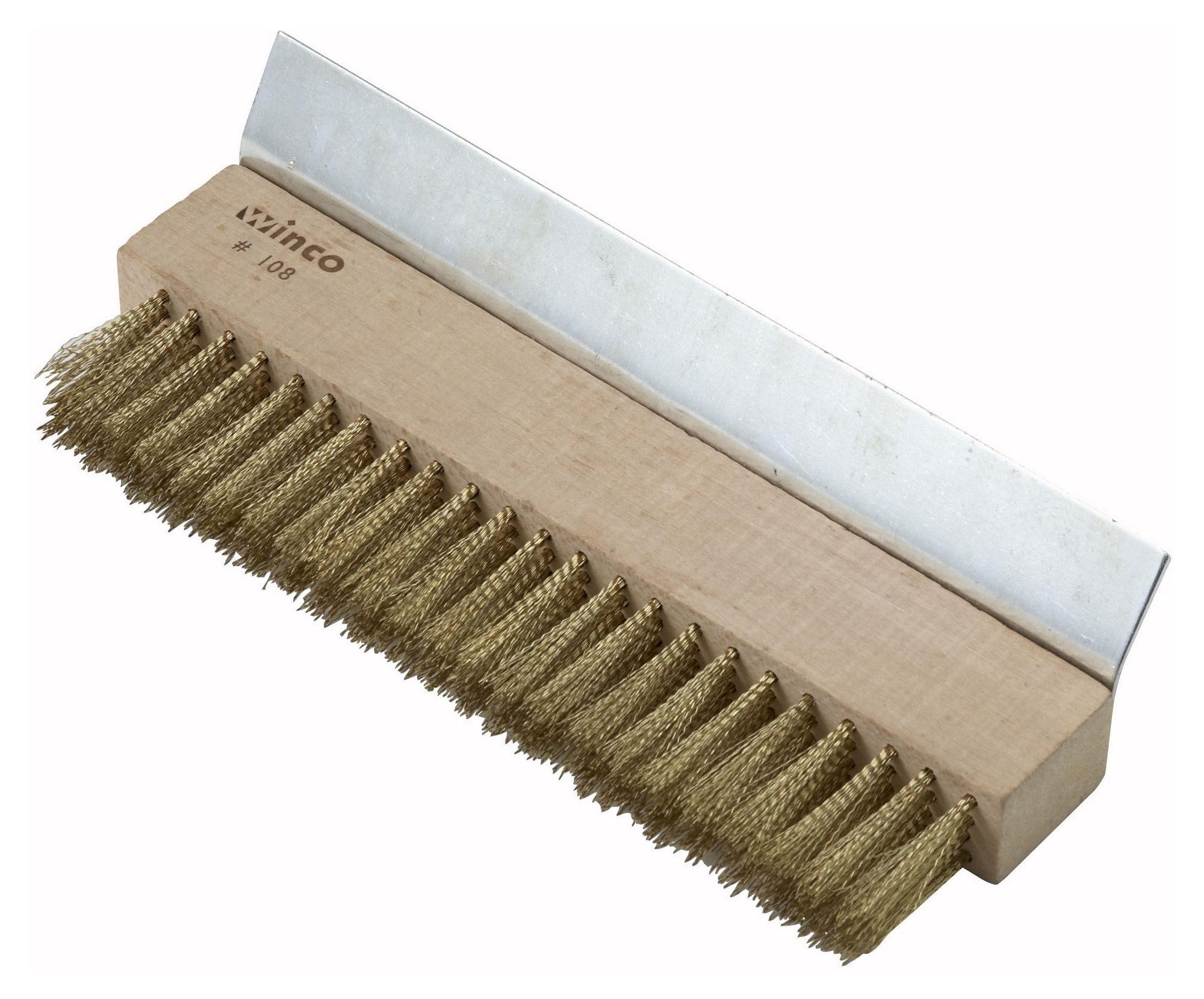 Winco BR-10 Pizza Oven Brush/Scraper without Handle