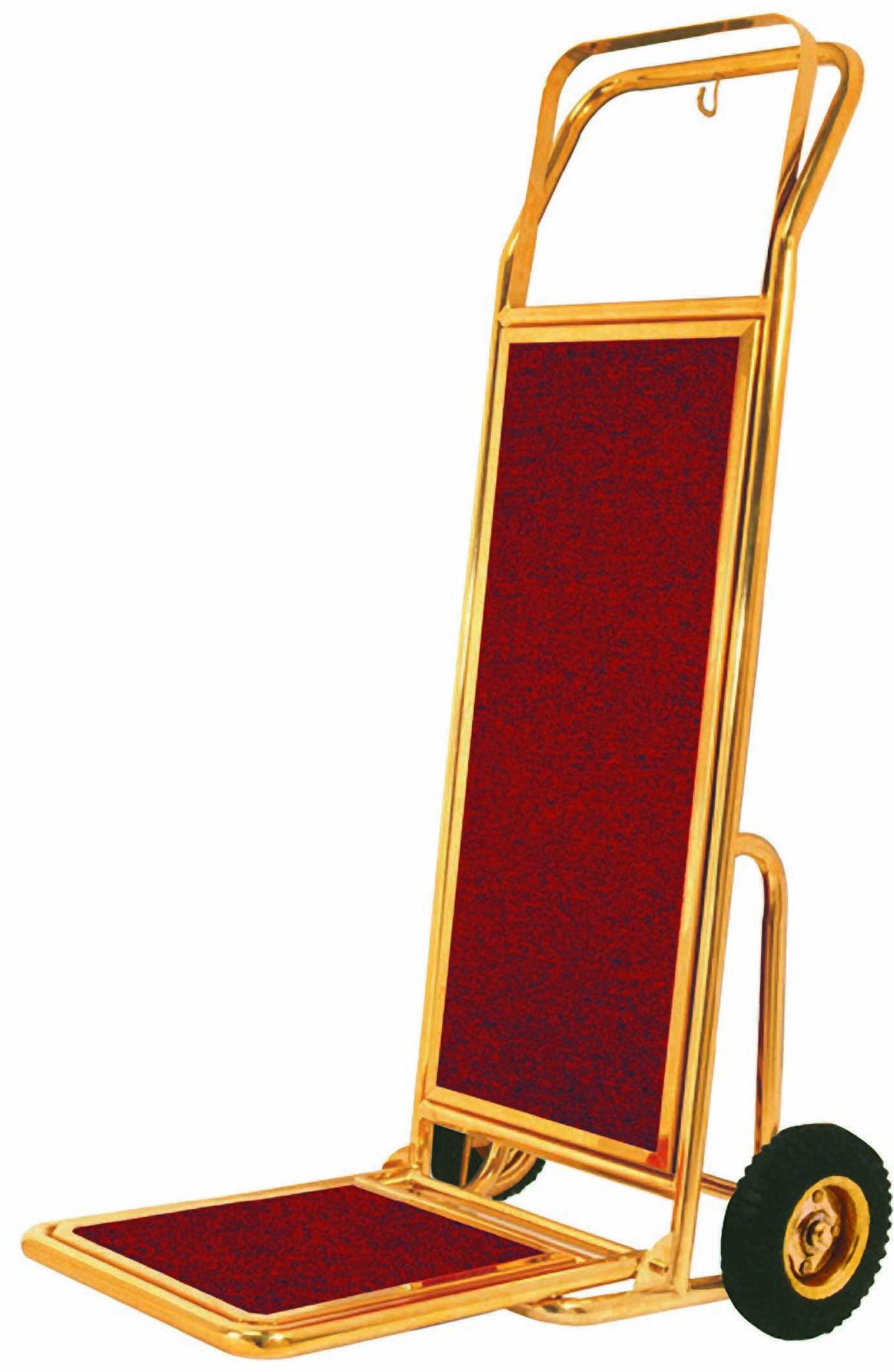Brass Luggage Handtruck