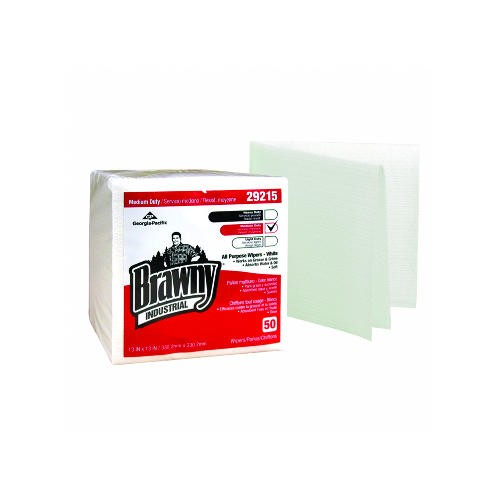 Brawny Industrial All-Purpose Wipers, 13 X 13