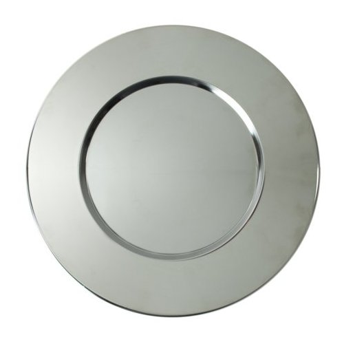 Bridal Metal Round Charger Plate 12.8