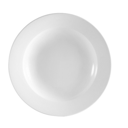 Bright White Clinton Pasta Bowl 22 Oz