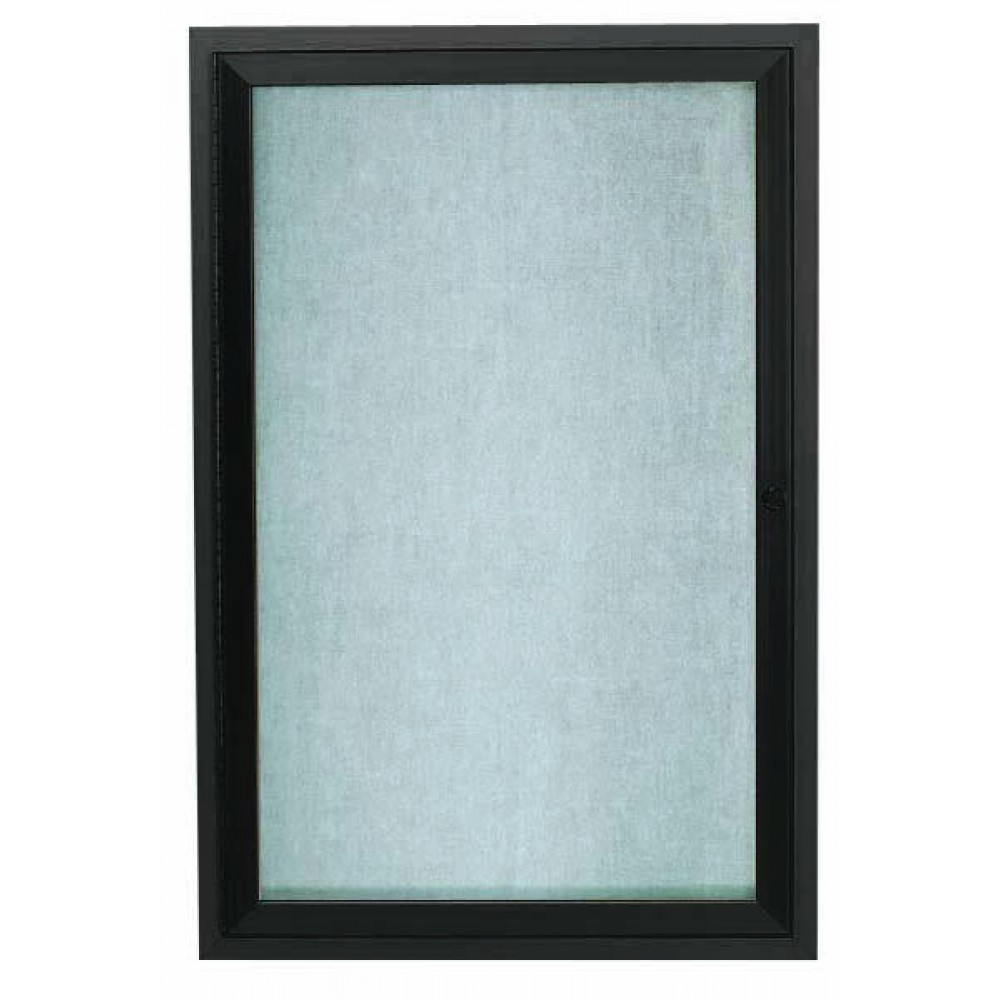 Bronze Indoor / Outdoor Enclosed Aluminum Bulletin Board-  24