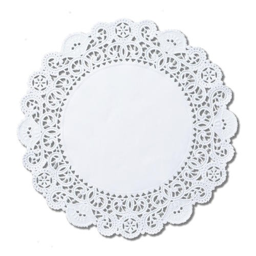 Brooklace Lace Doilies, Round, 14