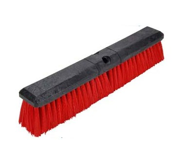 Franklin Machine Products  159-1072 Broom Head, 18 (Red Bristle )