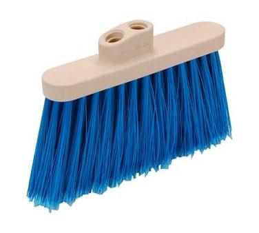 Franklin Machine Products  159-1074 Broom Head (5, Blue, Dual Brist )