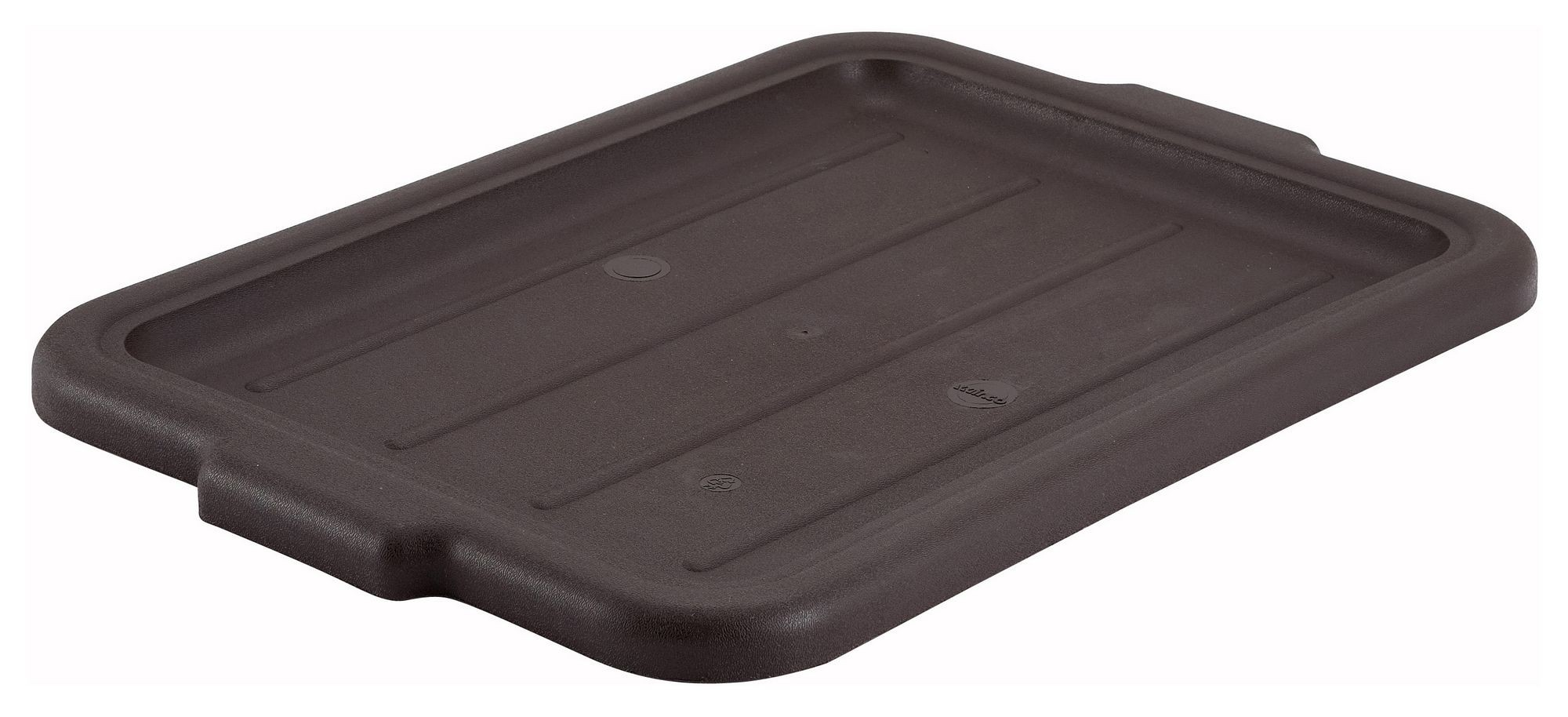 Winco PL-57B Brown Dish Box Cover