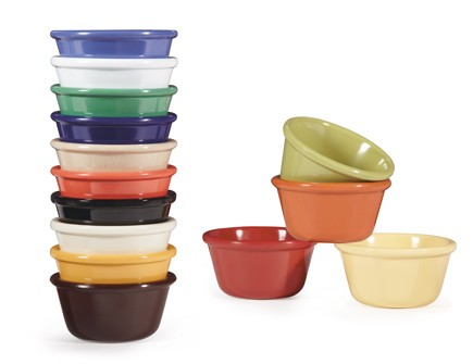 G.E.T. Enterprises RM-388-BR Brown Melamine 3 oz. Ramekin