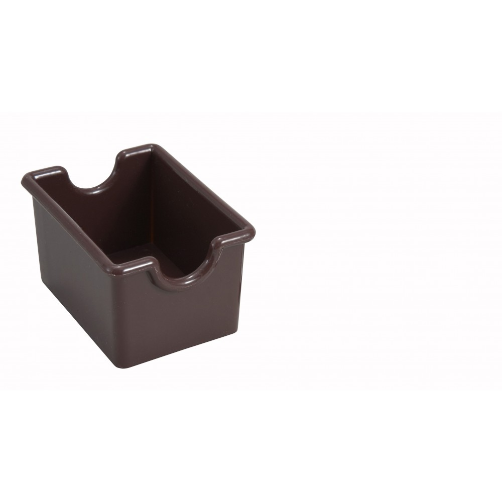 Winco pph-1b Brown Plastic Sugar Packet Holder