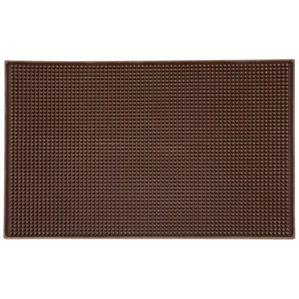 Brown Service Mat - 18 x 12