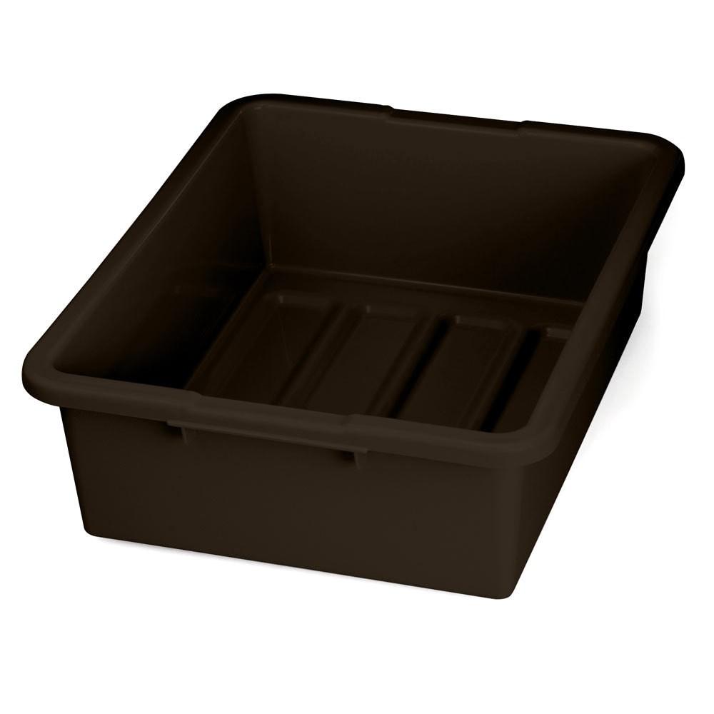 "TableCraft 1557BR Brown Tote Box 15"" x 22"" x 7"